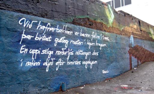 Credit to Börkur Sigurbjörnsson on Flickr